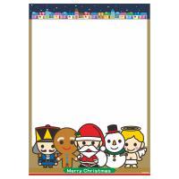 可愛耶誕海報 A4POP