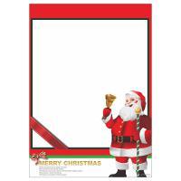 耶誕老人海報 A4POP