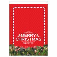 歡樂耶誕雙面紙旗 A3