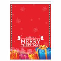 耶誕禮物雙面紙旗 A3