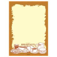 中西式早餐海報POP